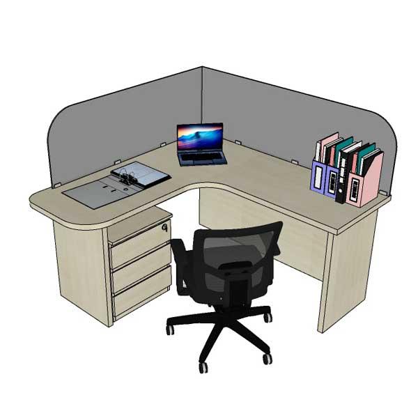 Mẫu nội thất văn phòng 004f