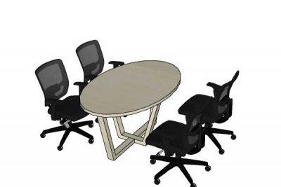 Mẫu nội thất văn phòng 004h
