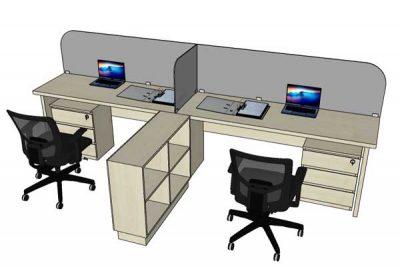 Mẫu nội thất văn phòng 004k
