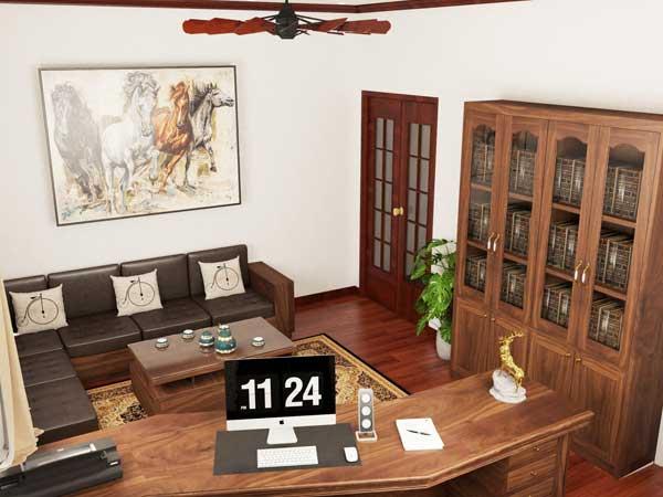 Mẫu nội thất văn phòng 006c