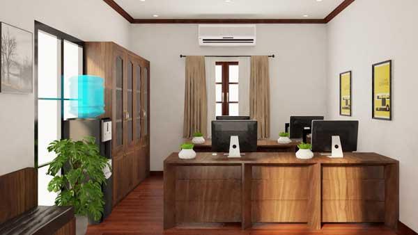 Mẫu nội thất văn phòng 006d