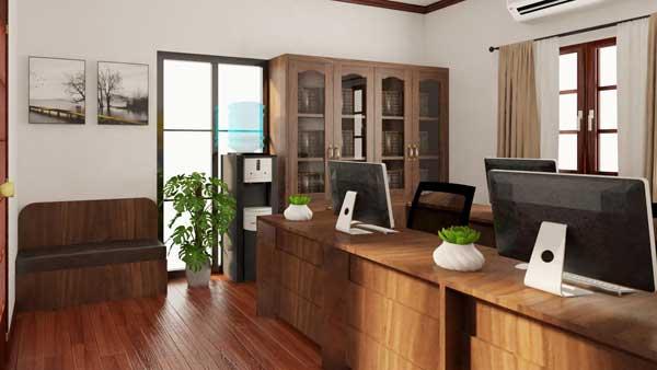 Mẫu nội thất văn phòng 006e