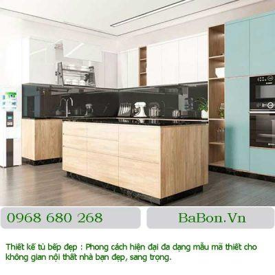 Mẫu thiết kế bếp đẹp 004
