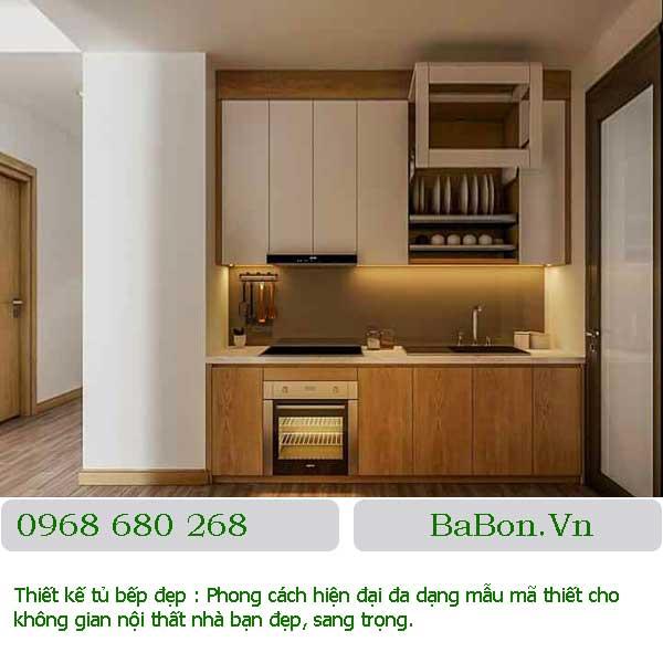 Mẫu thiết kế bếp đẹp 008