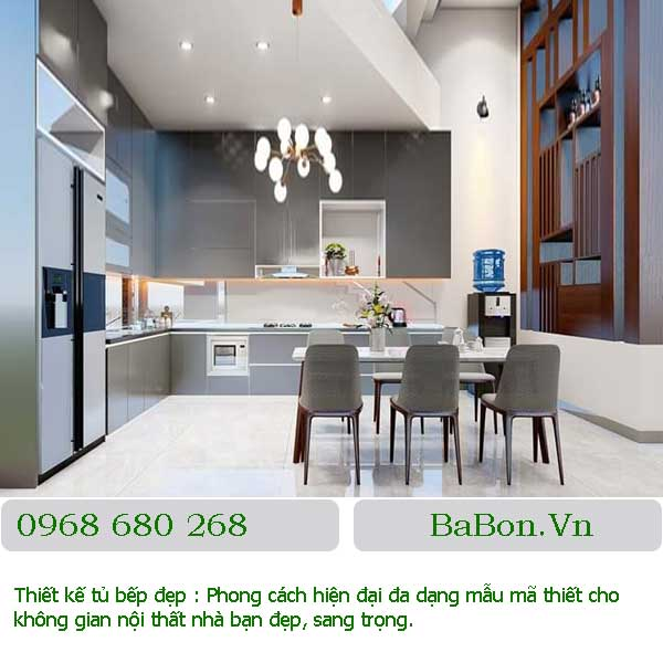 Mẫu thiết kế bếp đẹp 009