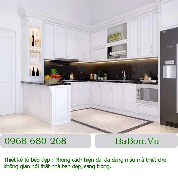 Mẫu thiết kế bếp đẹp 012