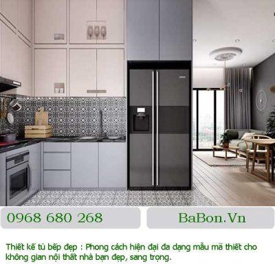 Mẫu thiết kế bếp đẹp 013