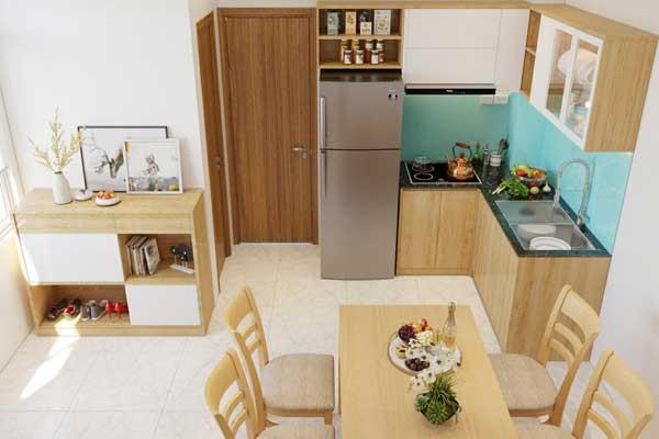 Mẫu tủ bếp 003 b