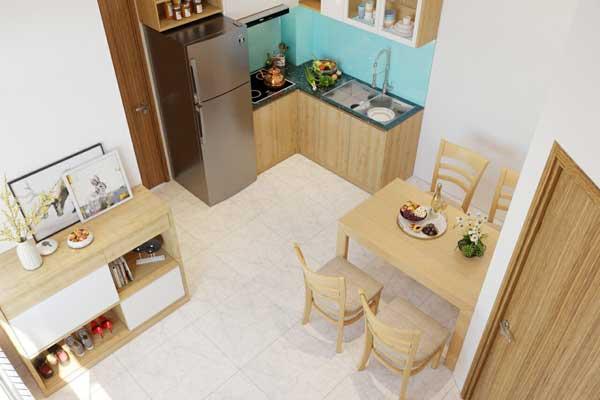 Mẫu tủ bếp 003 d