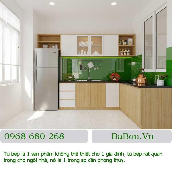 Mẫu tủ bếp 002