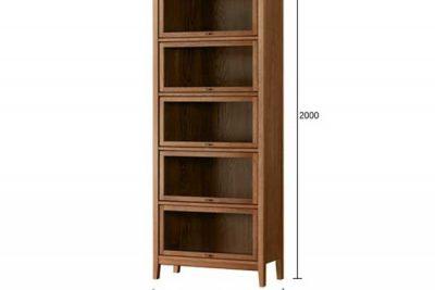 Mẫu tủ hồ sơ - tủ sách 001 c