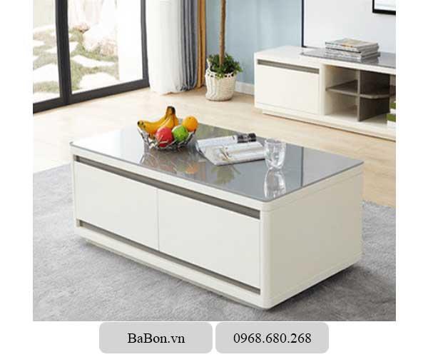 Bàn Sofa Babon 4100, bàn trà, bàn phòng khách, nội thất đẹp giá rẻ, nội thất gỗ BaBon Việt Nam